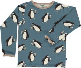 Penquin shirt, bluestone -  - SMaAW1601c - 1