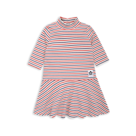 STRIPE RIB DANCE DRESS, offwhite -  - 1775013160c - 1