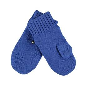 Snowfall mittens, Real Blue -  - 7W18S103c