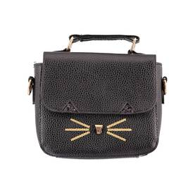 Cat handbag, black -  - 7W17V105k - 1