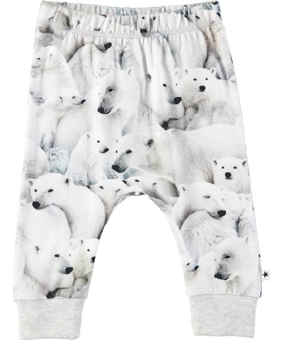 Simone pants, Polar Bear Jersey - Housut - 4W18I210L - 1