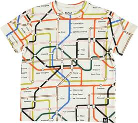 Roxo T-shirt, Subway Map -  - 1S19A216P - 1